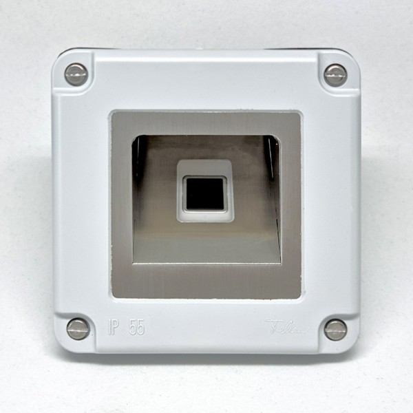 500087 Micro-Adapter Edelstahl dLine NV LG
