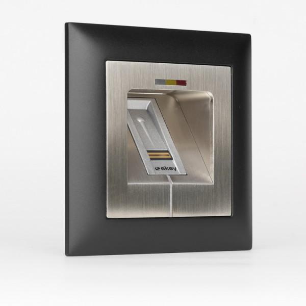 500022 Micro-Adapter Edelstahl LED RFID SC