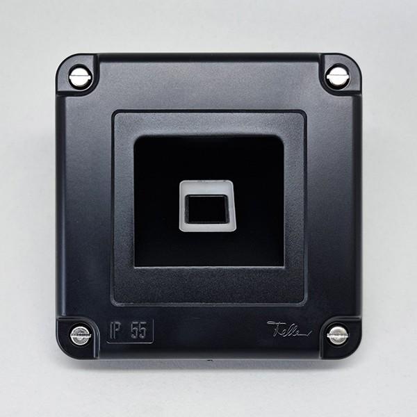 500088 Micro-Adapter Edelstahl dLine NV SC SC