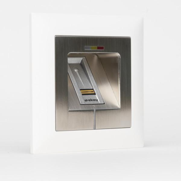 500021 Micro-Adapter Edelstahl LED RFID WE