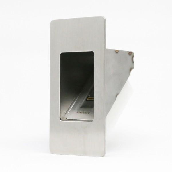 500053 Edelstahl Adapter arte Tür