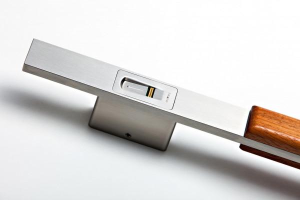 505010 Fingerscan-Griff Holz für ekey arte 1200mm