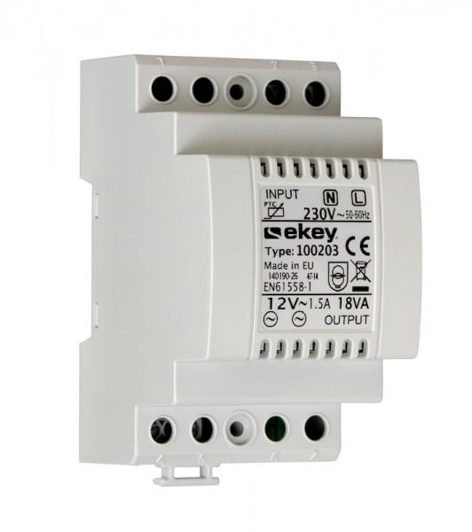 100203 ekey NT REG 230AC/12VAC/1.5A