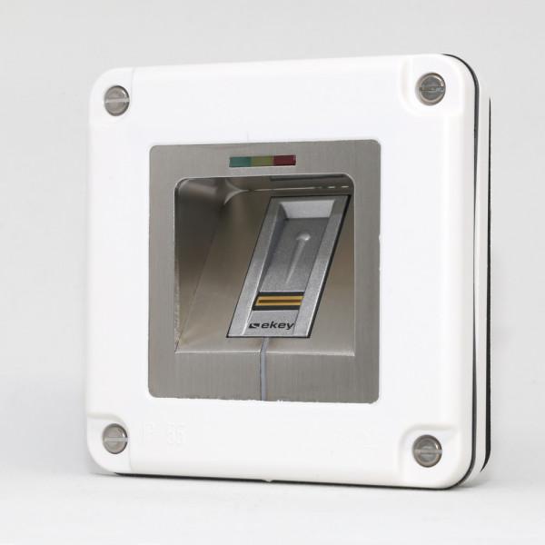 500029 Micro-Adapter Edelstahl NV LED RFID WE