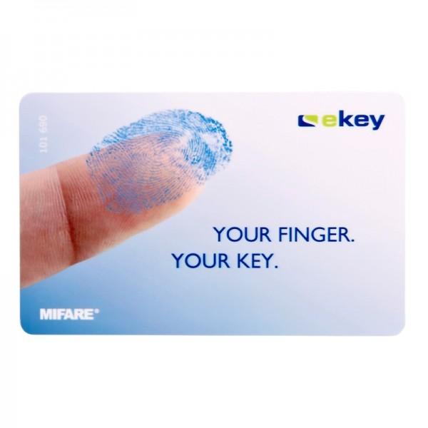 101690 ekey RFID Karte MIFARE 2k logo